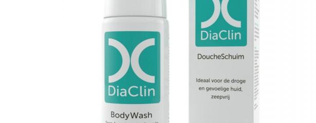DiaClin DoucheSchuim droge huid